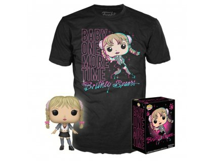 Britney POP! & Tee Box Baby One More Time heo Exclusive Funko