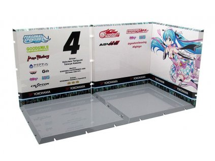 Dioramansion 150 Decorative Parts for Nendoroid and Figma Figures Racing Miku 2019 (Pit A) PLM