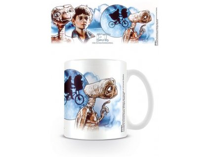 E.T. the Extra-Terrestria Mug ET & Elliott Illustration Pyramid International