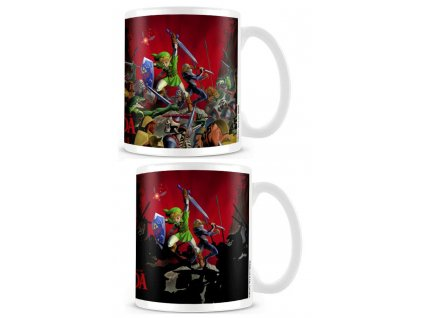 Legend of Zelda Heat Change Mug Battle Pyramid International