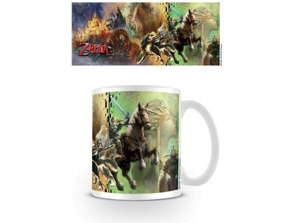 Legend of Zelda Twilight Princess Mug Characters Pyramid International