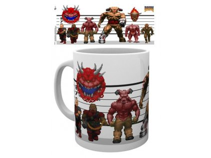 Doom Classic Mug Enemies GB eye