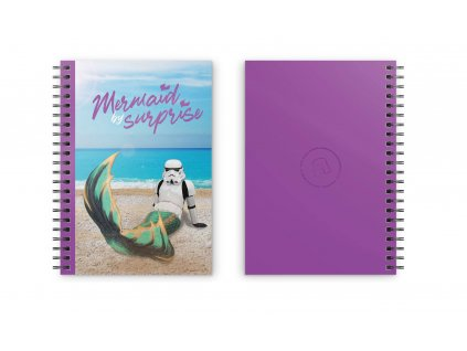 Original Stormtrooper Notebook Mermaid For Surprise SD Toys