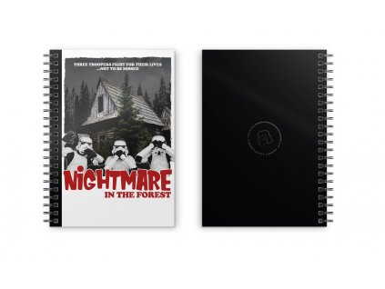 Original Stormtrooper Notebook Nightmare In The Forest SD Toys