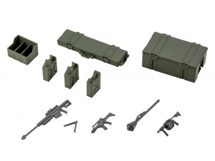 Hexa Gear Plastic Model Kit 1/24 Army Container Set 8 cm Kotobukiya