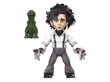 Edward Scissorhands Action Vinyls Mini Figure 8 cm Edward The Loyal Subjects