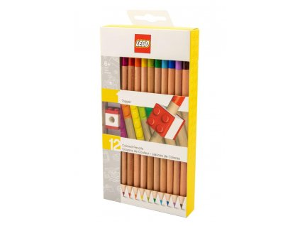LEGO Coloured Pencil 12-Pack Topper Joy Toy