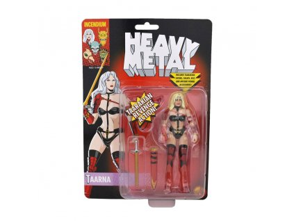 Heavy Metal FigBiz Action Figure Taarna Blonde Ver. 13 cm Incendium