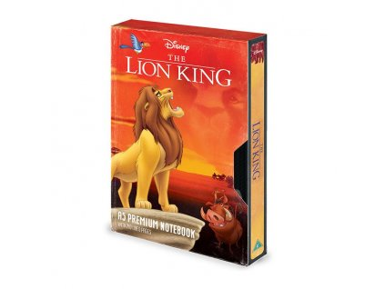 The Lion King Premium Notebook A5 Circle of Life VHS Pyramid International