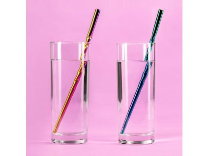 Unicorn Straw 2-Pack Horn Paladone Products