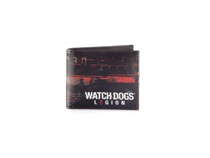 Watch Dogs: Legion Bifold Wallet All Over Print Difuzed