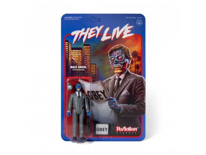They Live ReAction Action Figure Male Ghoul 10 cm Super7