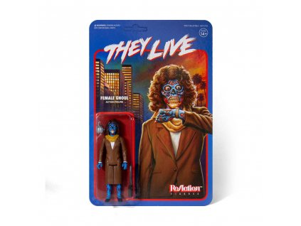 They Live ReAction Action Figure Female Ghoul 10 cm Super7