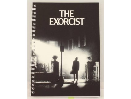 The Exorcist Notebook Movie Poster SD Toys