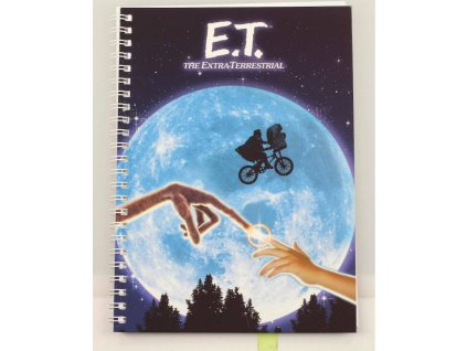 E.T. the Extra-Terrestrial Notebook Movie Poster SD Toys