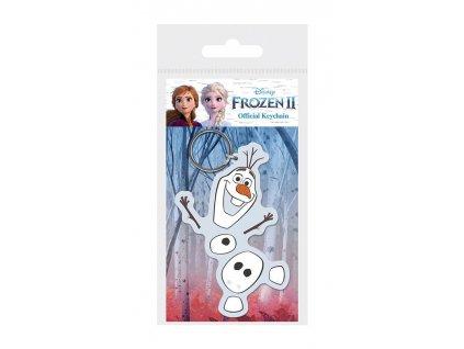 Frozen 2 Rubber Keychain Olaf 6 cm Pyramid International