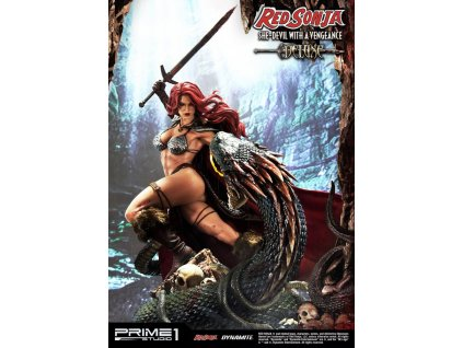 Red Sonja Statue Red Sonja She-Devil with a Vengeance Deluxe Version 79 cm Prime 1 Studio