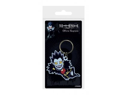 Death Note Rubber Keychain Ryuk 6 cm Pyramid International