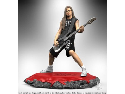 Pantera Rock Iconz Statue Rex Brown 22 cm Knucklebonz
