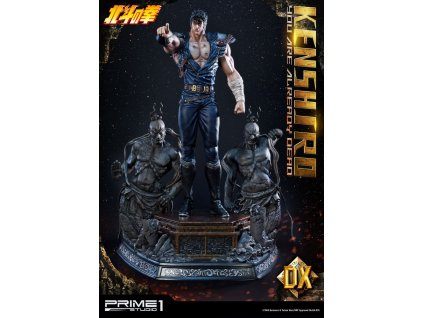 Fist of the North Star Statue 1/4 Kenshiro You Are Already Dead Ver. Deluxe 69 cm Prime 1 Studio