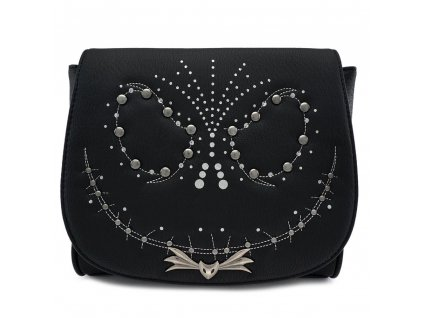 Nightmare before Christmas by Loungefly Crossbody Bag Studded Jack Loungefly