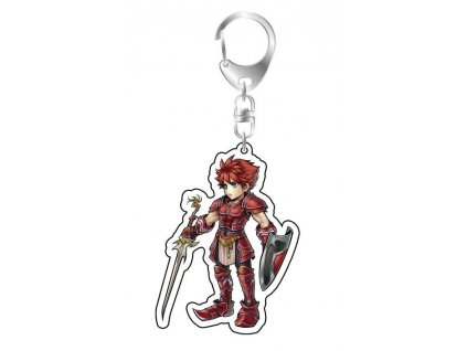 Dissidia Final Fantasy Acrylic Keychain Warrior of Light Square-Enix
