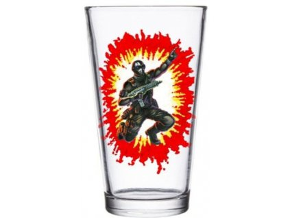 G.I. Joe Pint Glass Snake Eyes Super7