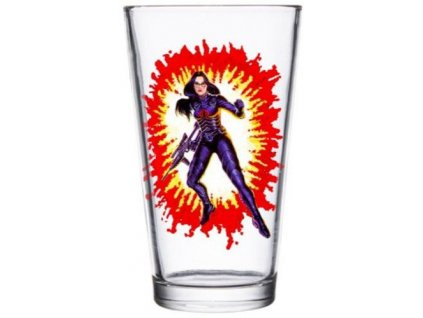 G.I. Joe Pint Glass Baroness Super7