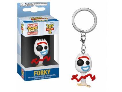 Toy Story 4 Pocket POP! Vinyl Keychain Forky 4 cm Funko