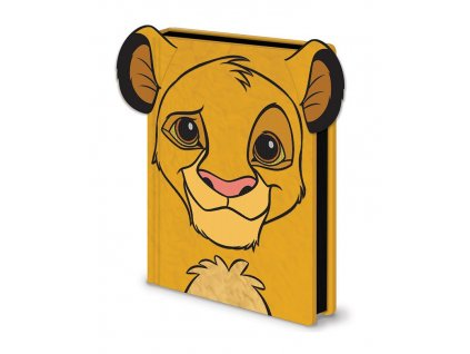 The Lion King Premium Notebook A5 Simba Furry Pyramid International