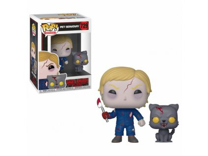 Pet Sematary POP & Buddy! Movies Vinyl Figure Undead Gage & Church 9 cm Funko