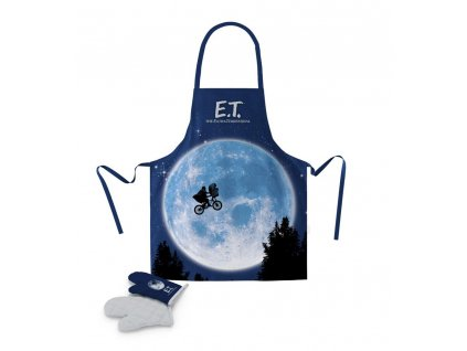 E.T. the Extra-Terrestrial cooking apron with oven mitt Poster SD Toys