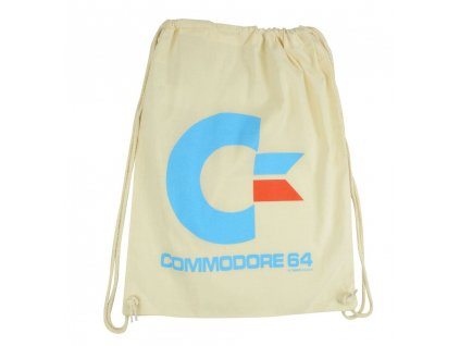 Commodore 64 Gym Bag White Logo United Labels