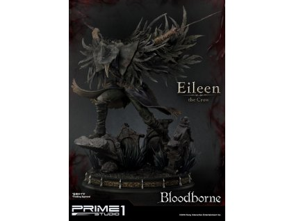 Bloodborne The Old Hunters Statue Eileen The Crow 70 cm Prime 1 Studio