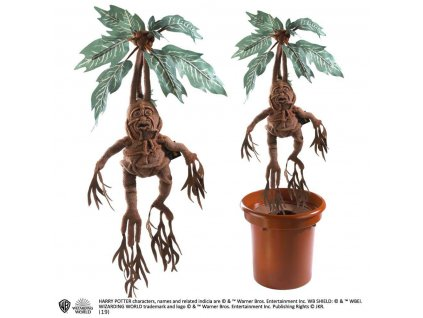 Harry Potter Collector Interactive Plush Figure Mandrake 36 cm Noble Collection