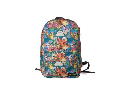 Pokémon Backpack Characters Difuzed