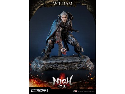 Nioh Statue 1/4 William 44 cm Prime 1 Studio