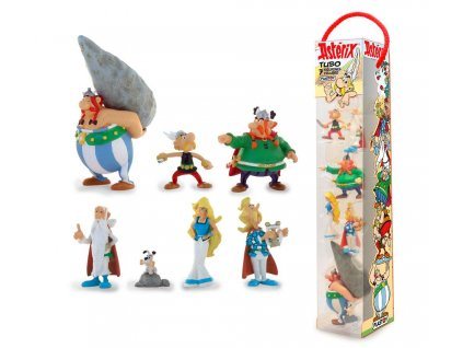 Asterix Mini Figure 7-Pack Characters 4 - 10 cm Plastoy