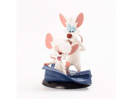 Pinky and the Brain Q-Fig Figure Taking Over The World 10 cm Quantum Mechanix