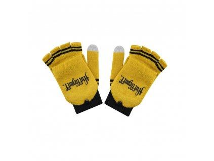 Harry Potter Gloves (Fingerless) Hufflepuff Cinereplicas