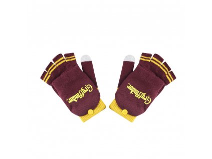 Harry Potter Gloves (Fingerless) Gryffindor Cinereplicas