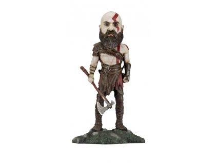 God of War 2018 Head Knocker Bobble-Head Kratos 22 cm NECA