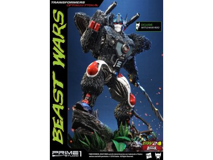 Transformers Beast Wars 1/3 Statues Optimus Primal & Optimus Primal Exclusive 63 cm Assortment (3) Prime 1 Studio
