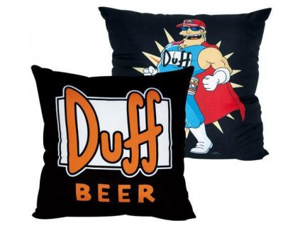 Duff Beer Pillow Duff Man 40 cm Trim