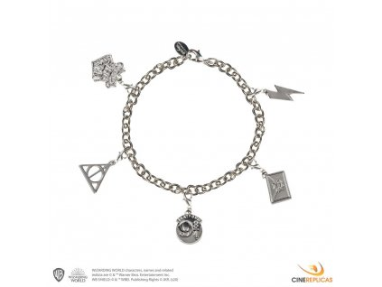 Harry Potter Charm Bracelet Symbols Cinereplicas