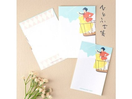 Howl's Moving Castle Letter Writing Set Look Out Movic
