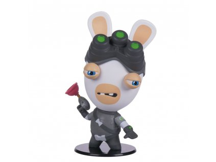Splinter Cell Ubisoft Heroes Collection Chibi Figure Rabbids Sam Fisher 10 cm Ubisoft / UBICollectibles