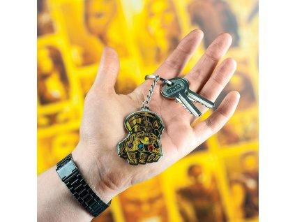 Infinity War Rukavice - Kroužek na klíče Paladone