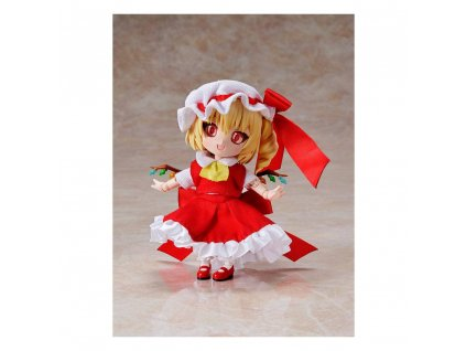 Touhou Project Chibikko Doll Action Figure Flandre Scarlet 10 cm Funny Knights