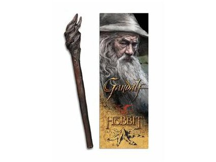 Gandalf Hůl Pero a Záložka Noble Collection